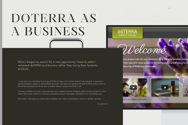 doTERRA as a business